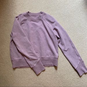 Lululemon cropped crew neck